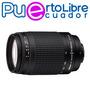 Nikon Lente Teleobjetivo 70 300mm F/4-5.6g - N U E V O S !!!
