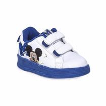 Zapatillas Addnice Mickey Minnie Mouse Disney Con Luz Velcro