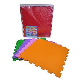 Kit Tatame Colorido Com 4 Peças - Millytoys