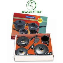 Tramontina - Paris Bateria Teflon 4pz 20599/003 - Bazar Chef