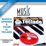 Revista Aprende A Tocar El Teclado - Bm Music Boulogne -