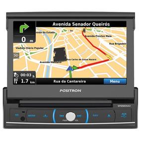 Dvd Automotivo Sp6920nav Retrátil Espelhamento Gps Bluetooth