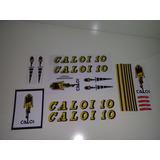 Kit De Guidão Caloi 10 1978 1979 1980 Adesivos E Selos