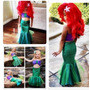 Hermosos Disfraz De Ariel