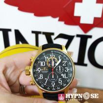 Relógio Invicta Force Collection 1515 Orig Banho Ouro 18k