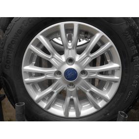 04 Rodas Eco Sport Aro 15 4x108 Originais Usadas Bem Zeradas