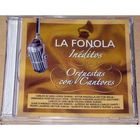 La Fonola Ineditos Di Sarli Duran Piazzolla Insua Cd Sellado