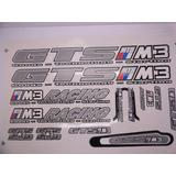 Adesivos Gts M3 Para Bicicleta Bike Cinza-frete Gratis
