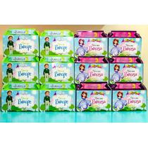 Caja Lonchera Para Dulces Princesa Sofia Personalizada
