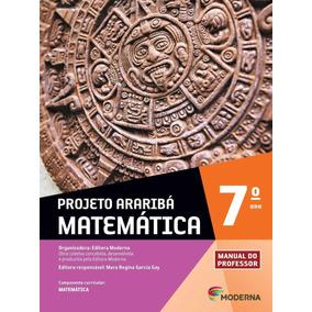 Livro Profº Projeto Araribá Matemática 7º Ano - Novo Lacrado