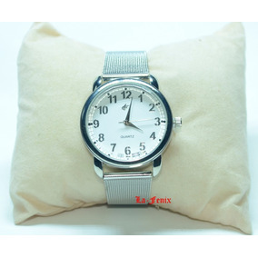 Relógio Feminino Pulseira Aço Inox Lindo Barato Oferta.