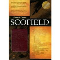 Biblia De Estudio Scofield Piel Especial Negro-roja C/indic
