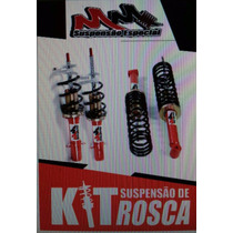 Kit Suspensão Rosca - Regulável - Do Golf Sapao