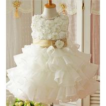 Vestido Infantil Festa Casamento Daminha Batizado