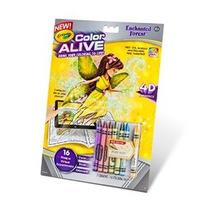 Crayola Color Alive Acción Dibujos Para Colorear - Bosque En