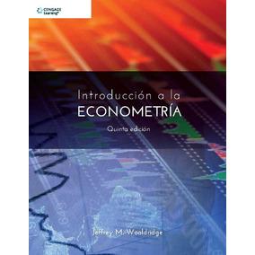 Introduccion A La Econometria 5 Wooldridge Cengage Oficial