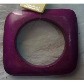 Pulseras De Madera Pintadas Con Colores Fashions