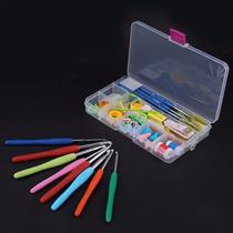 Completo Set Kit Agujas Crochet 16 Agujas + Accesorios