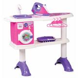 Lavanderia Infantil Mesa De Passar Laundry Center Brinquedo