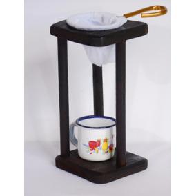 Mini Coador De Café+suporte+caneca Nº 5 Artesanato (fp12)