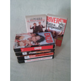 Lote De 6 Videos Vhs River Plate Campeon 90´s
