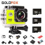 Mini Câmera Digital Filmadora Capacete Moto