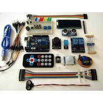 Arduino Uno Kit Módulos Básicos Pir Relé2 Dht11 Ultrasónico