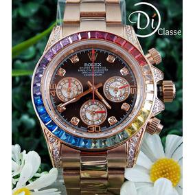 Reloj R. Daytona Rainbow Everose