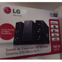 Equipo De Sonido Lg Dm2740 160w Rms Dvd Bluetooth Hdmi Nuevo