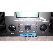 Amplificador De Potencia Lexsen Dsp A 1000 - 4400 Watts/rms