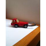 Micro Camión Montacargas Rojo Matchbox Superfast Skip Truck
