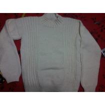 Pullover Sweter Tejido A Mano T:10/12 Niña