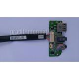 Placa I/o Board Áudio Itautec W7535 W244 Notebook Infoway