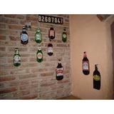 Botellas De Vidrio Aplastadas Decoracion/souvenirs