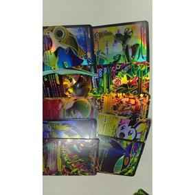 12 Cards Pokemon Kit Com 10 Cartas Ex + 02 Mega Ex
