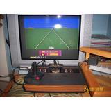 Raro Atari 2600 Frente De Madeira Ok!
