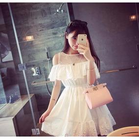Mei Fashion/ Vestido Casual/ Moda Coreana/ Princesa/ Verano
