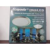 Panel Sistema De Iluminacion Led 30w Ecopower Plafon Aplique