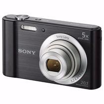 Câmera Digital Sony W800 Cyber Shot 20.1 Mp + Brinde