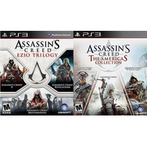 Combo Assassins Creed Americas Collection + Ezio Trilogy Ps3