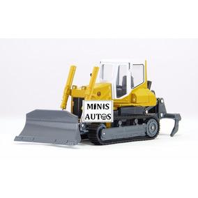 Miniatura Trator Esteira Em Metal Hy-truck Escala 1/25