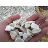 Piedra Partida De Mármol Blanco Nieve