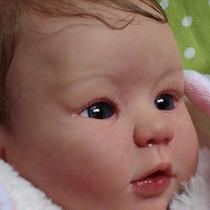 Bebê Reborn Kylin Corpo Inteiro Vinil Siliconado Muito Real