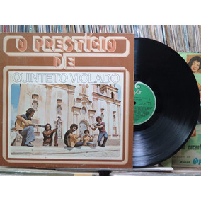 Quinteto Violado O Prestigio Lp Polyfar 1982 Stereo