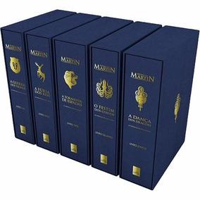 Box Game Of Thrones 5 Livros Ed Luxo (5 Livros) Frete Grátis