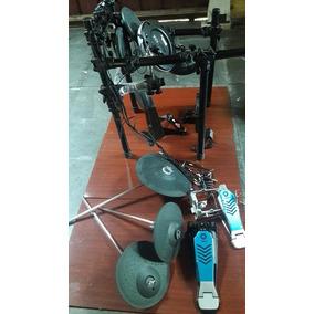 Bateria Eletrônica Yamaha Dtx 500 Completa Um Mes De Uso