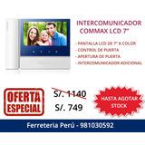 Commax Video Portero Intercomunicador Nuevo Sellado !!!