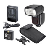 Flash Godox V850 Kit+bateria De Larga Duracion Y Cargador.