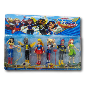 Dc Super Hero Girls Harley Quinn Batgirl Supergirl