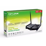 Router Tp-link 1 Watio Tl-wr841hp 300mbps Alto Poder Wifi N